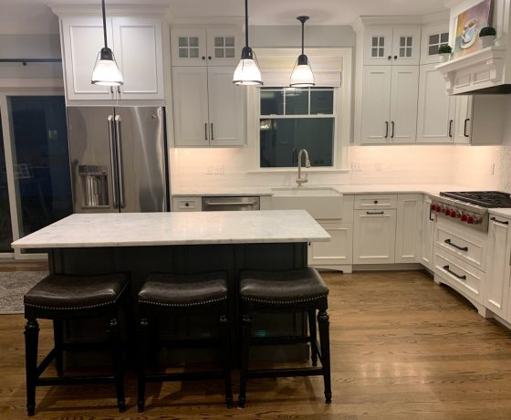 White Carrara Marble Countertops 2